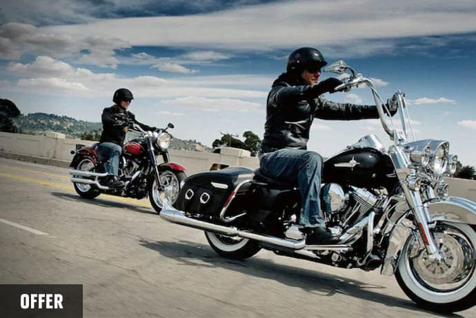 Get 5.49% APR and $0 Down on Used Motorcycles