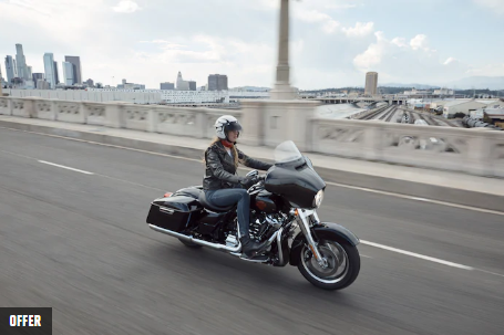 Get on select Touring®  Models for Under $299. per month