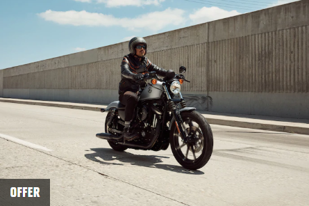 Get on a Sportster For as low as $129. per month