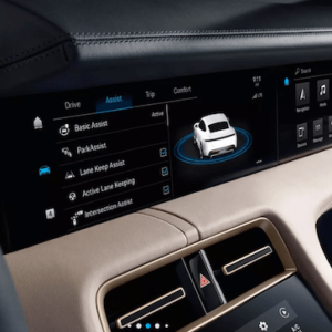2020 Porsche Taycan Driver Display