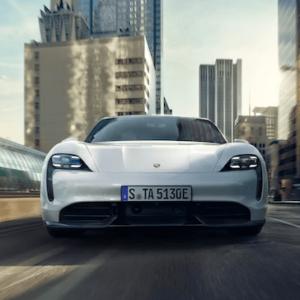 2020 Porsche Taycan Front Exterior