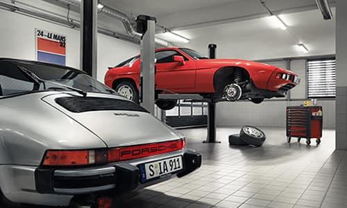 Classic Porsche Maintenance Services
