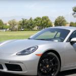 Patrick Posey reviewing the 2021 Porsche 718 Cayman for Porsche Ontario
