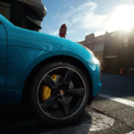 The 2021 Porsche Macan with Michelin tires.