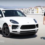 Patrick Posey reviewing the 2020 Porsche Macan S in Ontario.