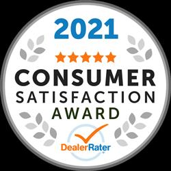 2021 Consumer Satisfaction Award.
