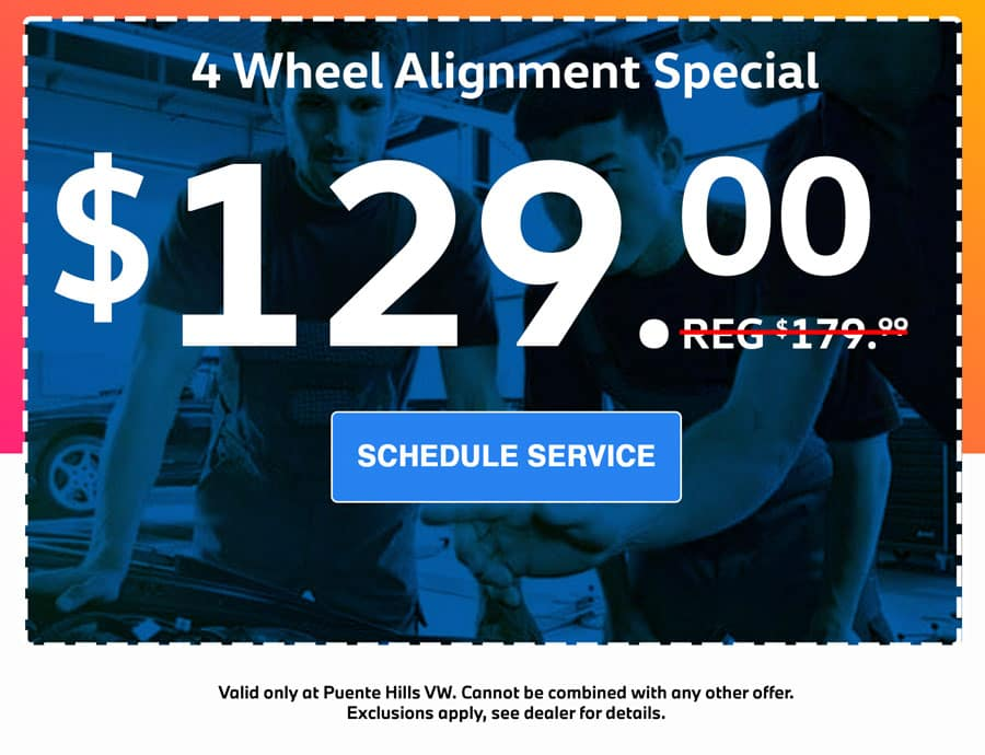 4 wheel alignment lease special in city of industry