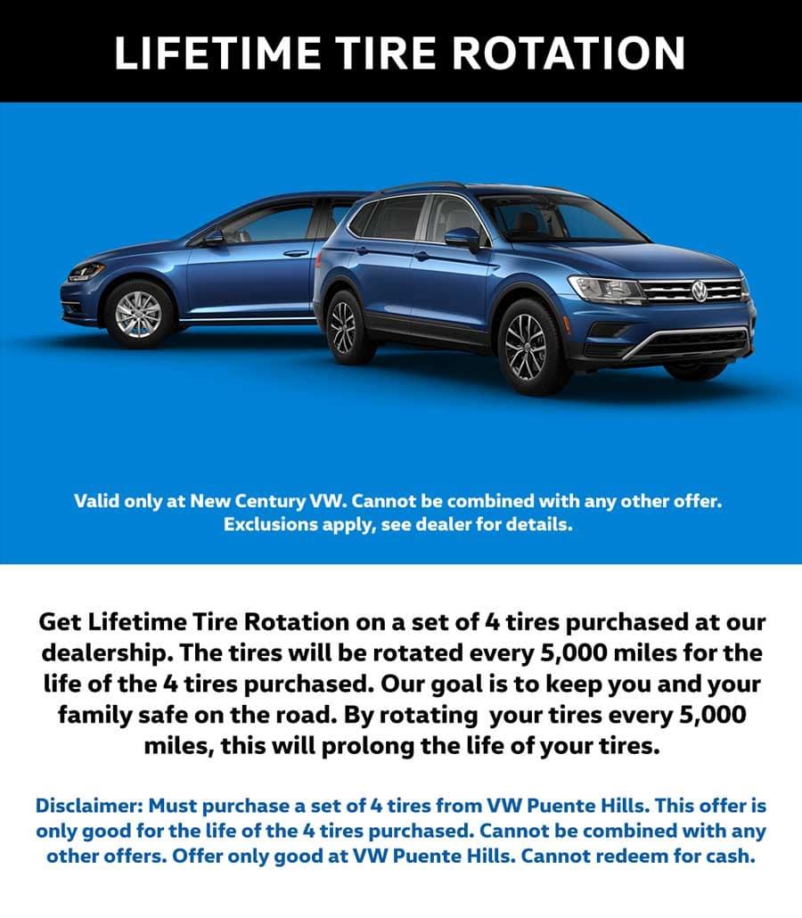 lifetime tire rotation
