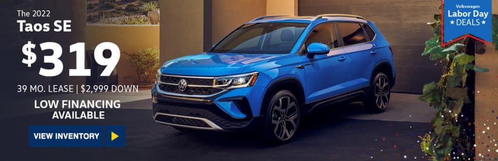 New 2022 Volkswagen Taos 1.5T SE FWD 4D Sport Utility