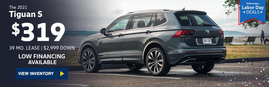 New 2021 Volkswagen Tiguan 2.0T S FWD 4D Sport Utility