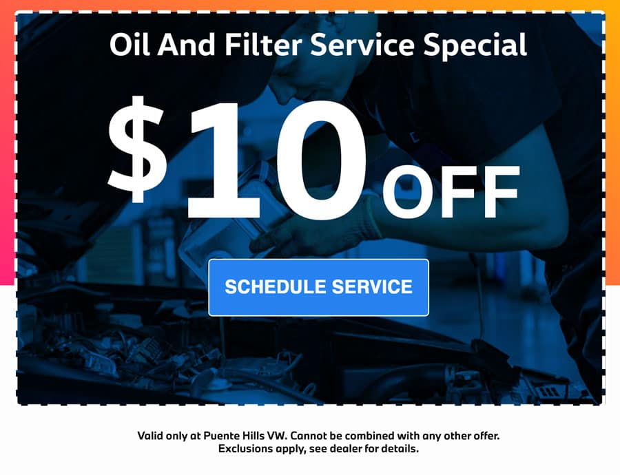 oil and filter change special in city of industry