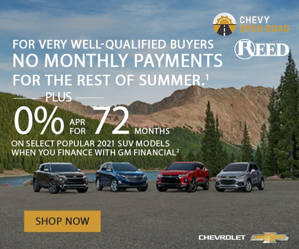 REED CHEVROLET SPECIAL OFFERS
