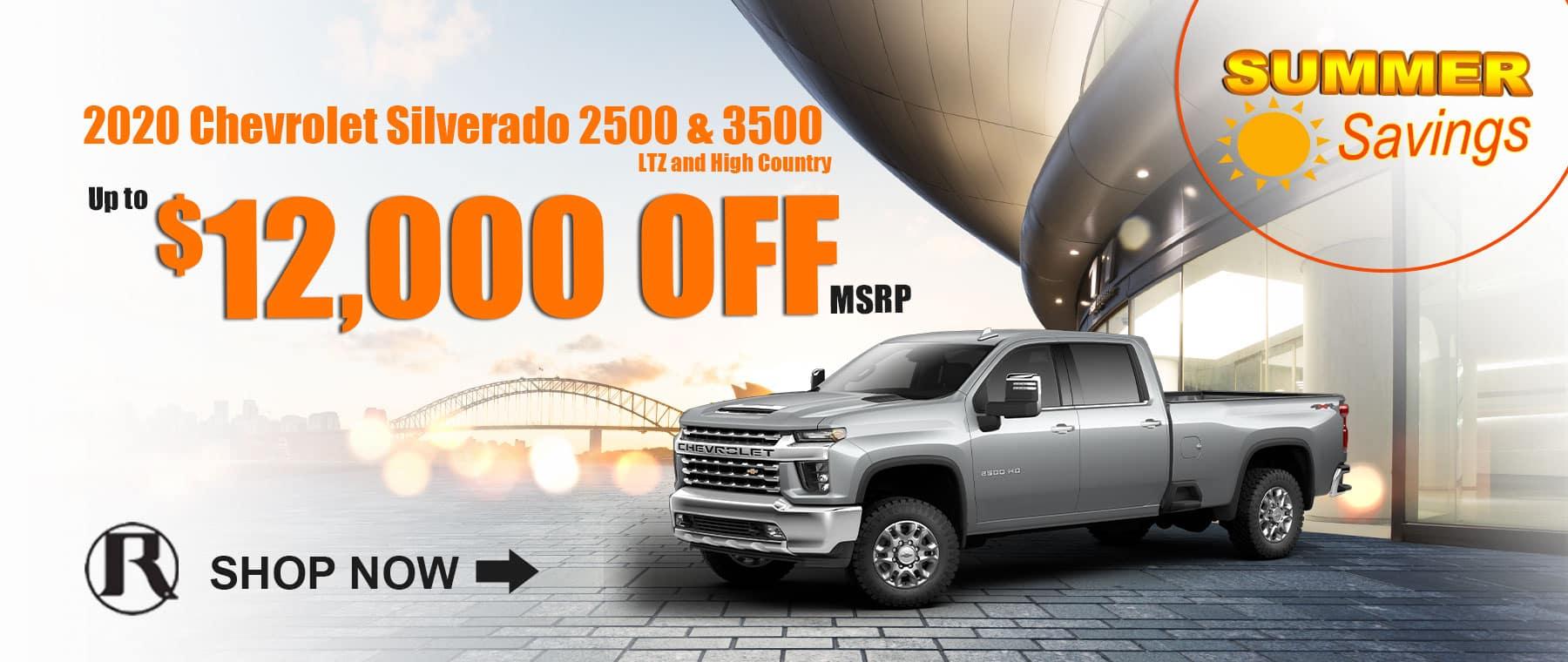 2020 Chevrolet Silverado 2500 & 3500