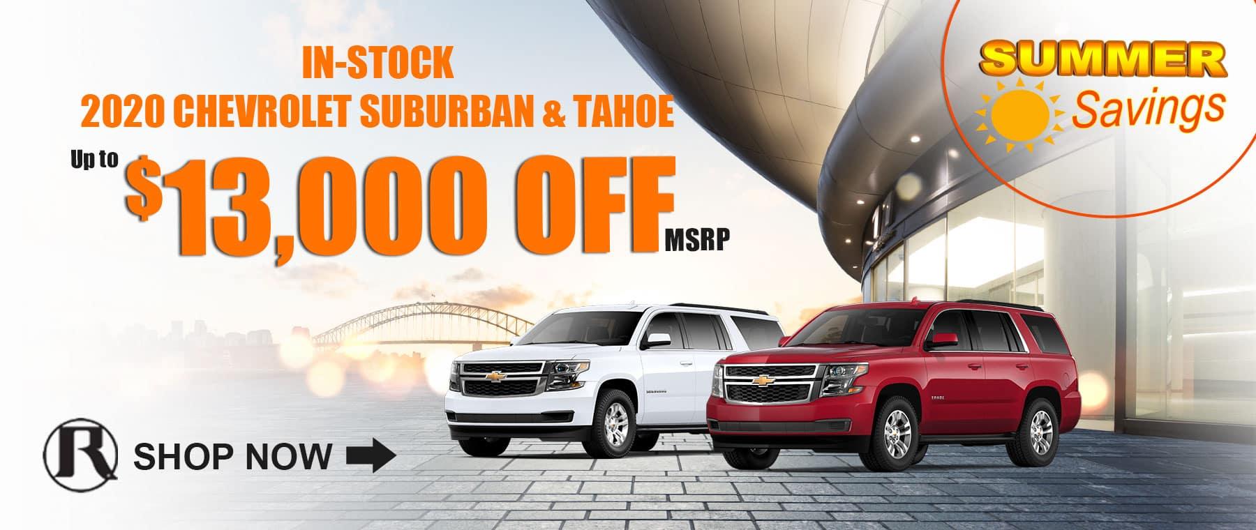 2020 Chevrolet Tahoe & Suburban