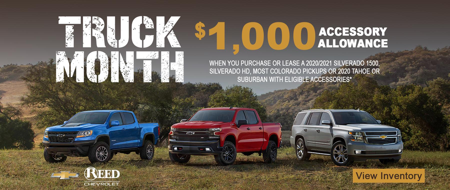 Chevrolet Truck Month!