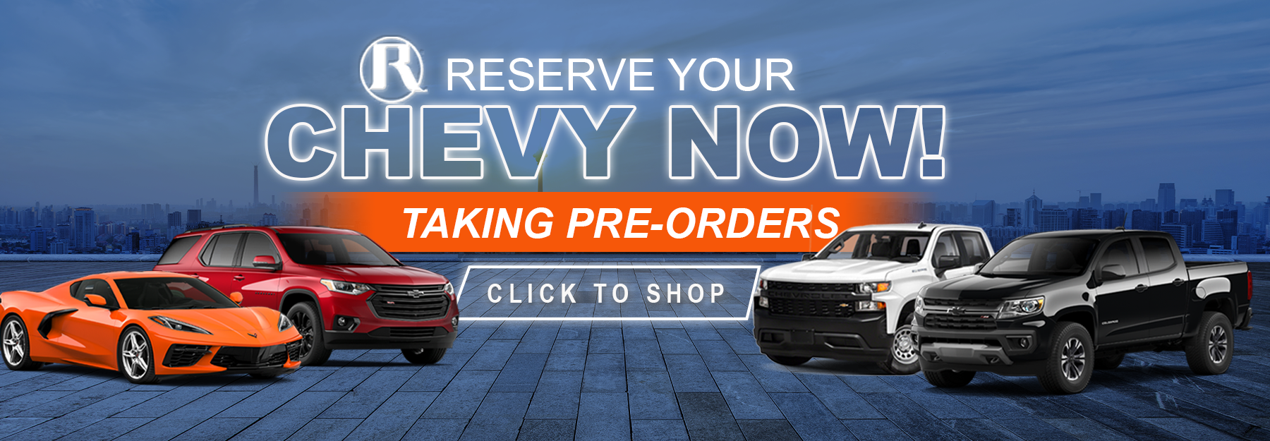 Reed Chevy Reserve Shop Now