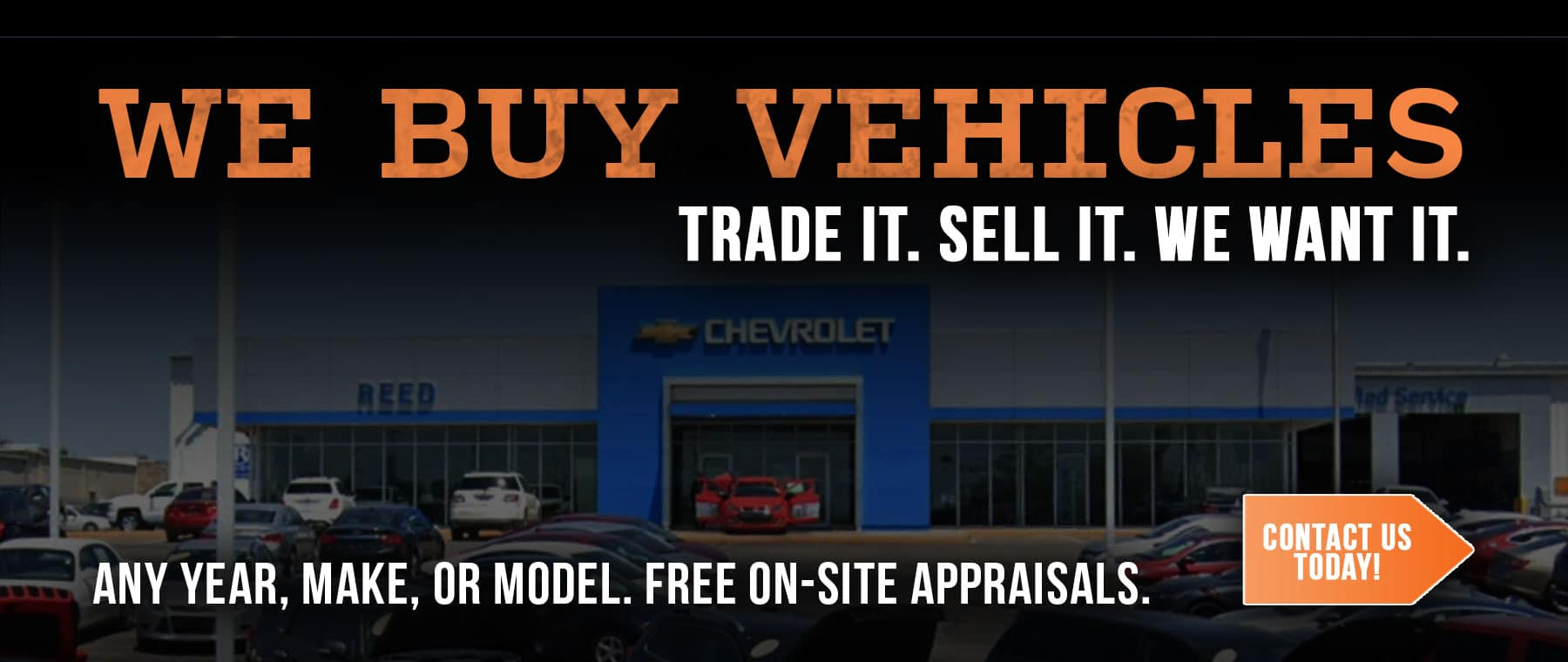 Reed Chevy Trade