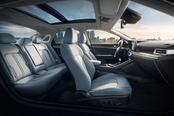 2021 Kia K5 interior seating