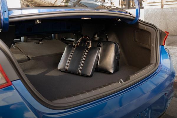 2021 Kia K5 trunk space