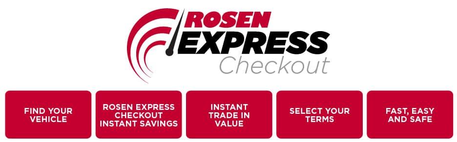 Rosen Express Checkout Banner