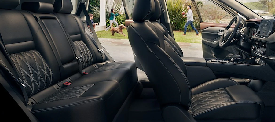 2021 Nissan Rogue interior seating