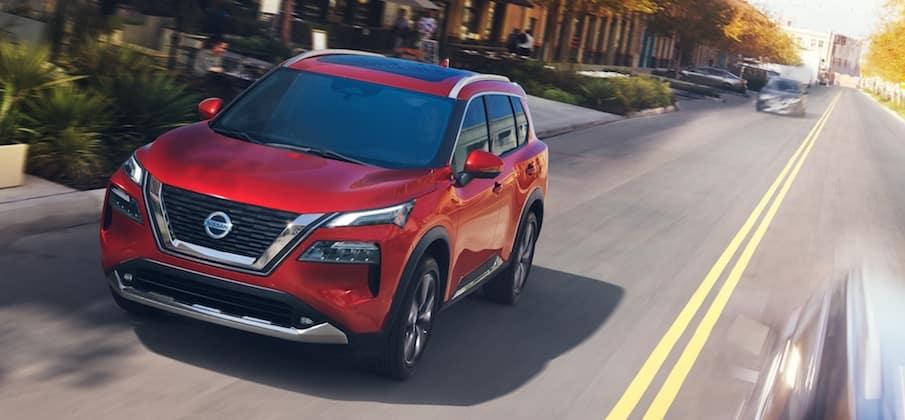 2021 Nissan Rogue model
