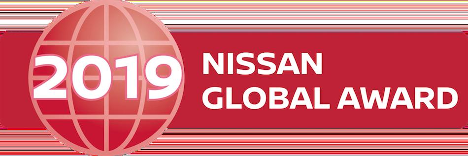 Nissan Global Award Banner 2019