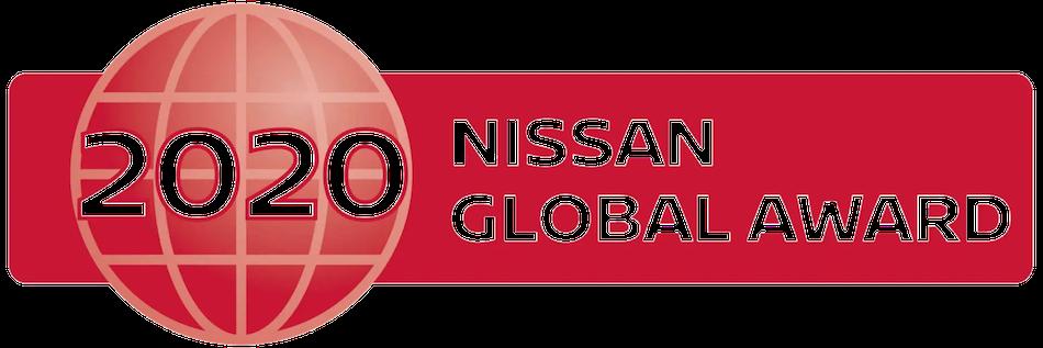 2020 Nissan Global Award Banner