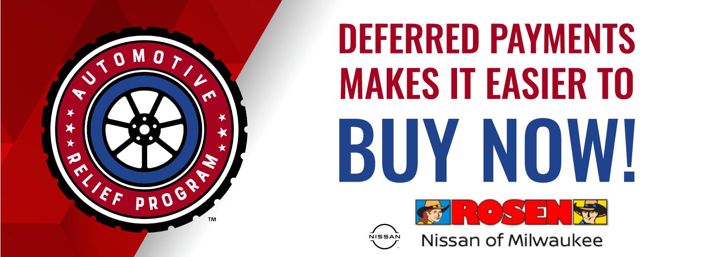 Rosen Nissan Milwaukee Automotive Relief Banner