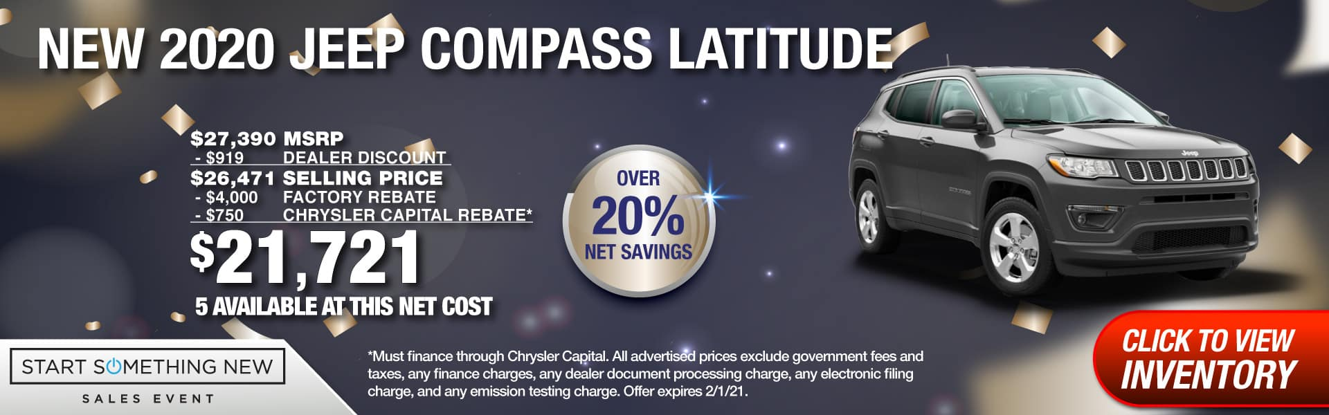 SD CDJR 1920px_Offers_Feb1_Compass_Latitude-03 – Net Cost