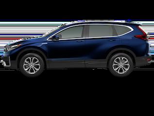 Blue 2020 CR-V Hybrid