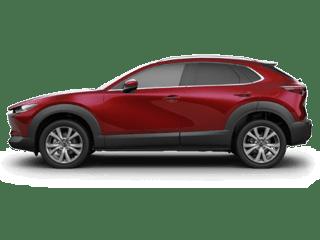 2020 cx-30 dark red