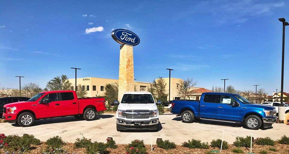 Picture of the best Ford dealership in Midland-Odessa, TX