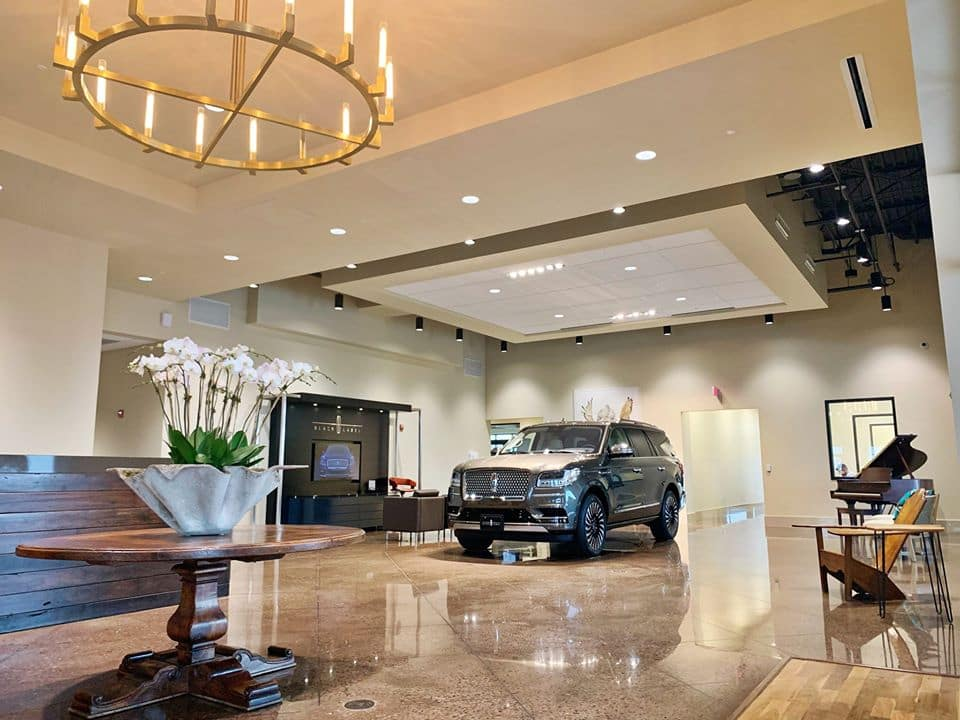 Lincoln dealership in Odessa, TX.
