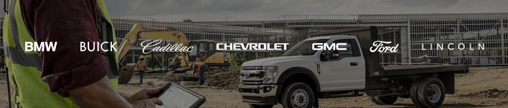 Sewell Fleet vehicles and work trucks