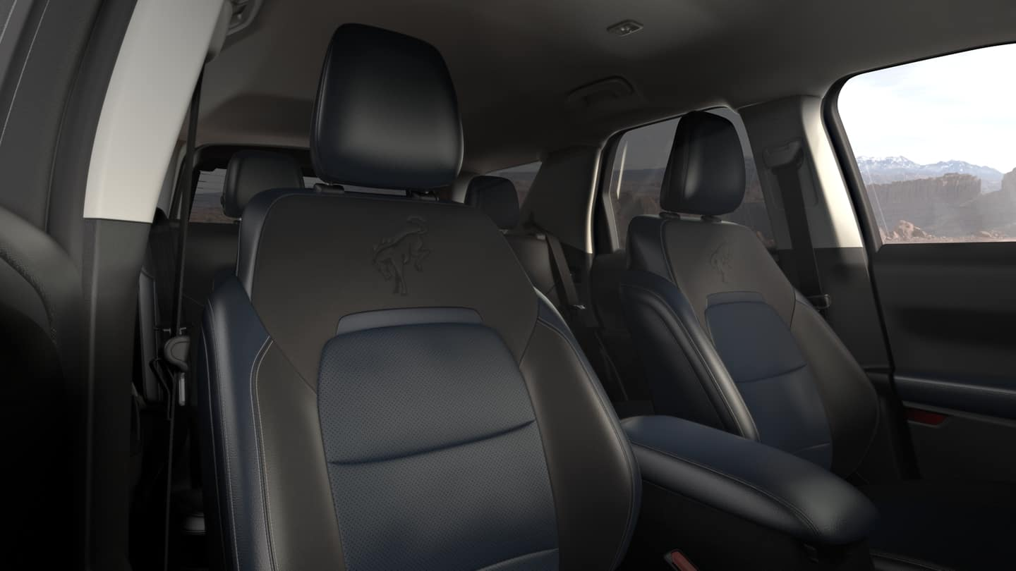 Interior of the Ford Bronco Sport