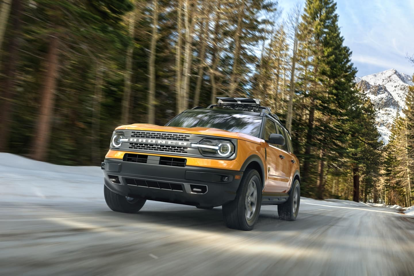 Sleek view of the New 2021 Ford Bronco Sport