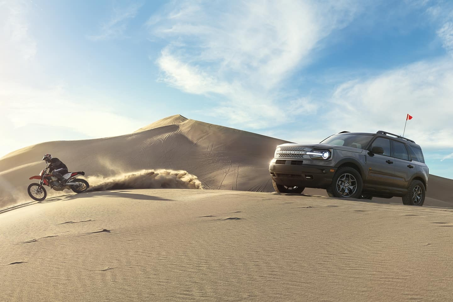 Take the Ford Bronco sport with you wherever you go.