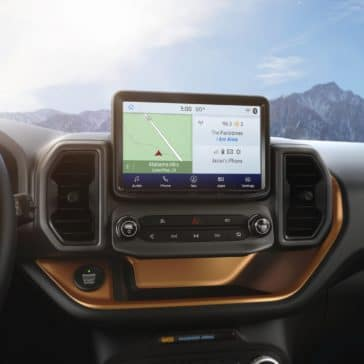 The New Ford Bronco has a great navigation system. But you won't need it, cause we deliver free, nationwide.
