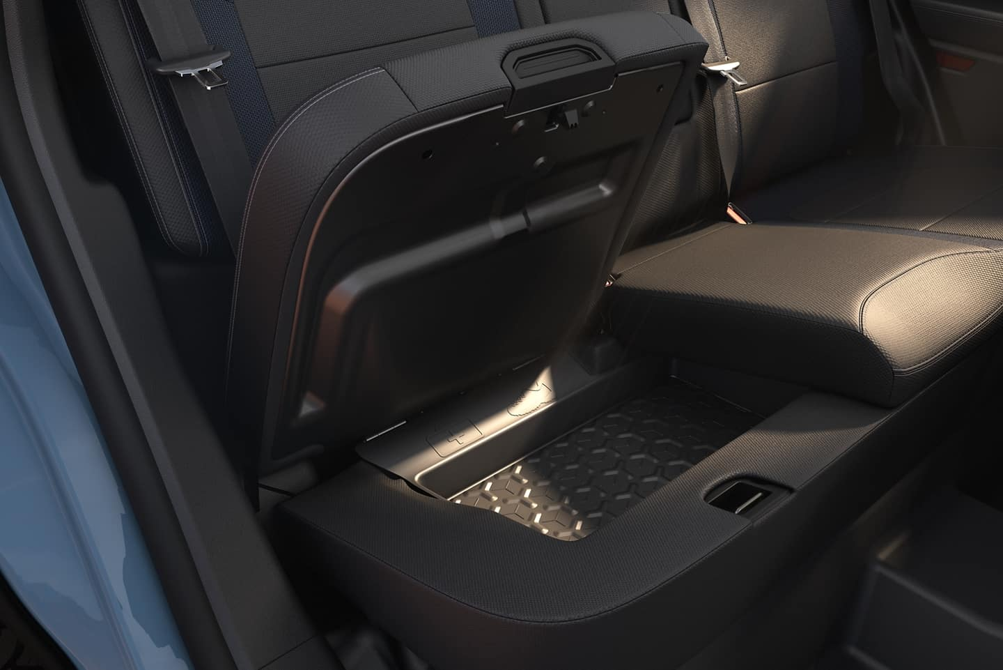Interior pic of Ford Bronco sport - coming 2021.