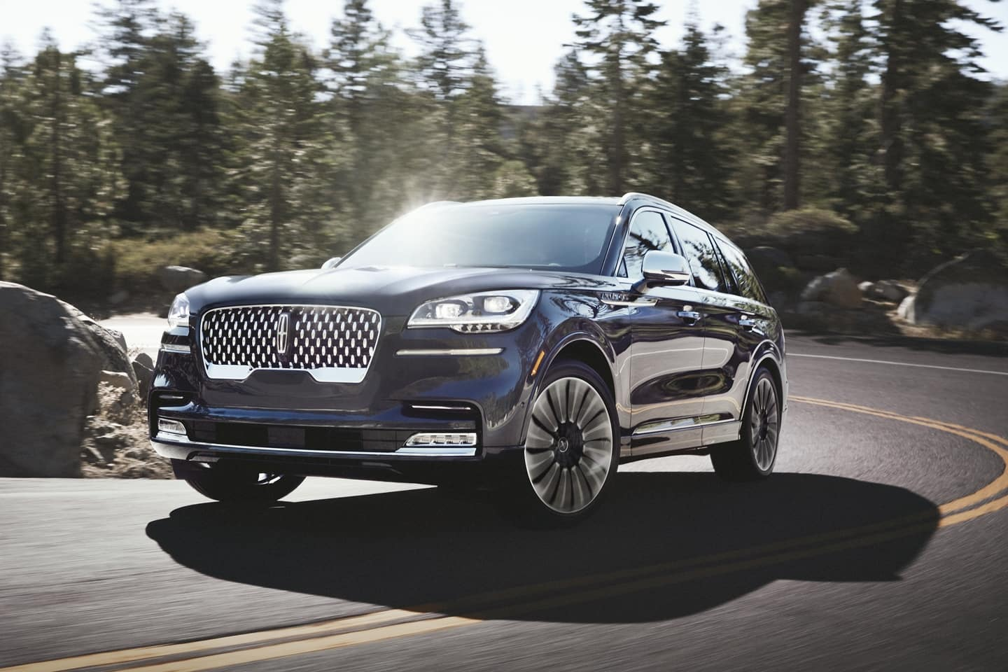 A picture of a New Lincoln Aviator available in Midland-Odessa.