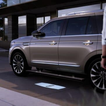 A picture of the New 2020 Lincoln Navigator. Available now in Mideland-Odessa county.