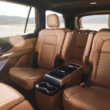 Captain Seats in the 2020 Aviator