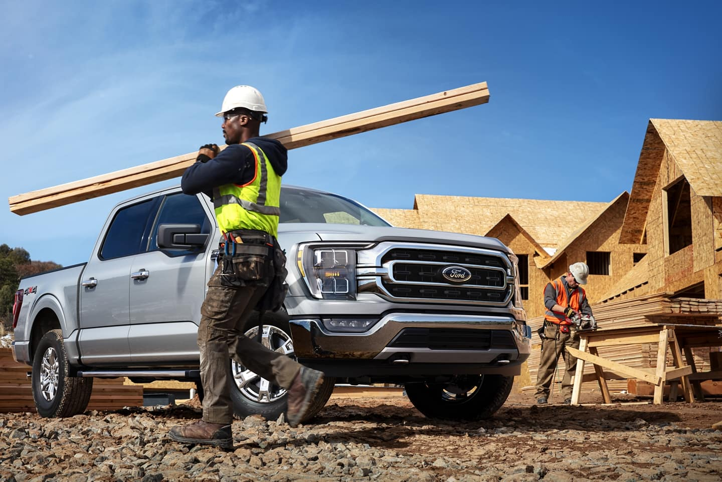 The Ford F-150 is used as a Work Truck