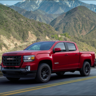 Red 2021 GMC Canyon Truck