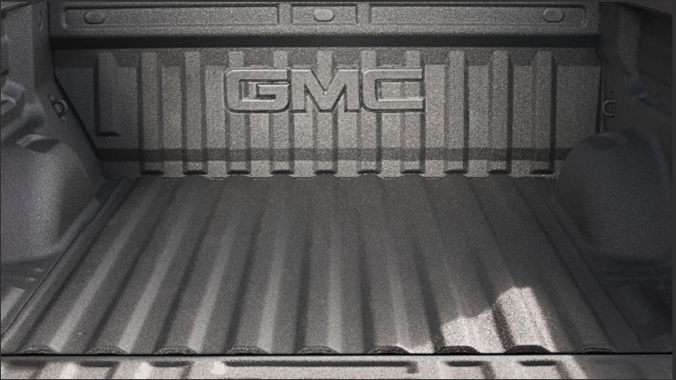 Truck bed of the 2021 GMC Canyon