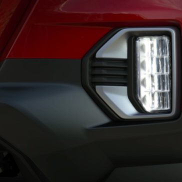 Picture of the New GMC Canyon's Headlights