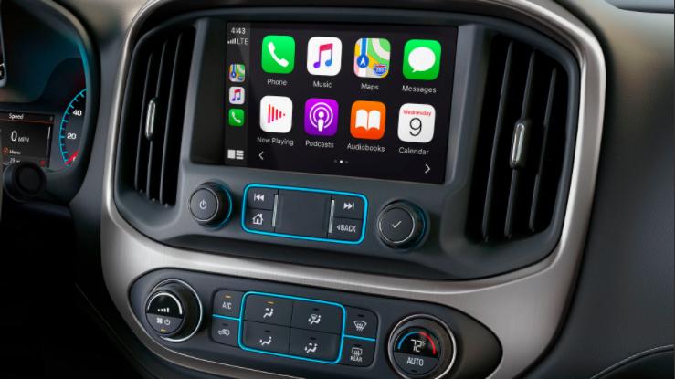 GMC Canyon has App Sync Technology