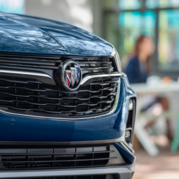 The New Buick Encore GX has a beautiful Grille