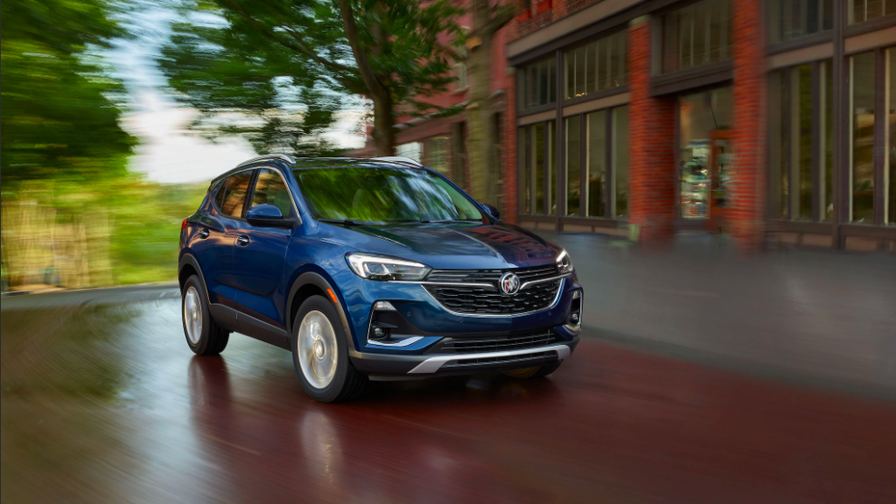 Test drive the New 2021 Buick Encore in Andrews, TX